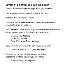 formal letter i am writing to