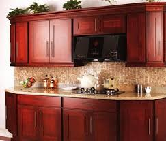 cherry wood kitchen cabinet doors design interior home decor