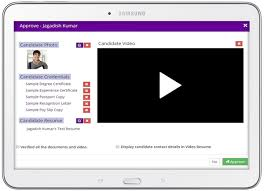 Sample Video Resume by Vresapp Fresh Approach To Recruitment