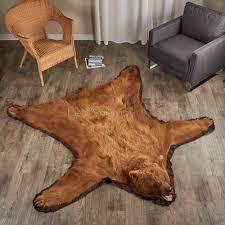 6 Foot Round Rugs by Black Bear Skin Rugs Bear Skin Rug Sale At Bear Skin World