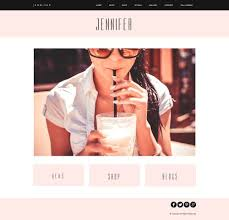 website template for weebly so easy to look professional chic