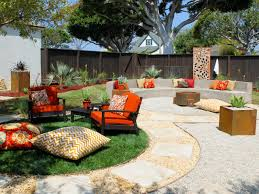 dhmy backyard fire pit seating area orange s rend hgtvcom andrea