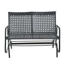 Cane Rocking Chairs For Sale Everglades White Resin Wicker Patio Sofa By Lakeview Outdoor Image