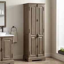 bathroom linen storage cabinet chelles bathroom linen storage cabinet gray wash bathroom