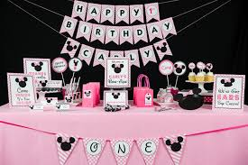 minnie mouse party decorations pink minnie mouse birthday party directions 505 design inc
