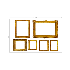 sticker frame images reverse search filename original gold photo frames wall stickers jpg