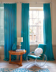 Window Treatments For Living Room by Captivating Living Room Curtains Blue