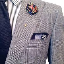 lapel flower black and gray camo flower lapel pin by the detailed