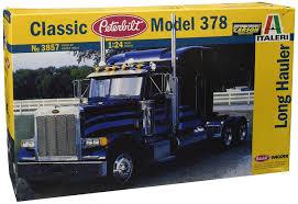 paccar usa italeri 3857 1 24 peterbilt 378 long hauler hobby station