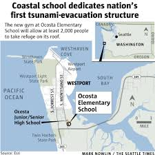 Oregon Tsunami Map by It Will Happen Here U0027 Washington Coast Builds Nation U0027s