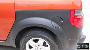 how to paint the plastic fenders on honda element youtube