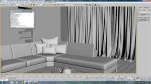 curtain material in max vray youtube