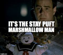 Stay Puft Marshmallow Man Meme - the ghostbusters 30th reunion is getting closer