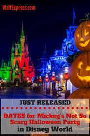disney releases 2017 dates for mickey u0027s halloween and christmas party