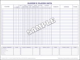 Stat Sheet Template Baseball Scorebook And Softball Scorebooks From S