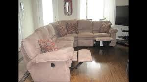 lazy boy sectional sofa youtube