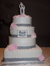 silver jubilee wedding anniversary cake simply delicious cakes