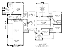 European Floor Plans by European House Plan With 3 Bedrooms And 2 5 Baths Plan 1980