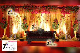 wedding venue backdrop 7events wedding planner birthday party baby naming weddings