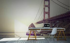 murals bridges to size of wall myloview com go to the product golden gate bridge wall mural