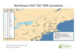Northeast America Map by Northeast United States U2013 A Mix Of T U0026t Machine Vintages Sizes And