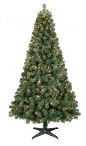 artificial tree sale 6 ft pre lit alberta spruce for
