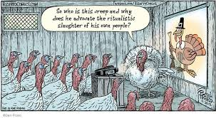 bizarro thanksgiving turkey comics and the cartoonist