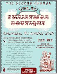 revival mops 2nd annual christmas boutique fundraiser menifee 24 7