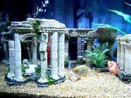 Christmas Decoration For Fish Tank by Aquarium Decoration Google Search Tacky Tanks Pinterest