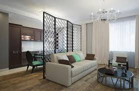 smart and modern interior design with room dividers creating