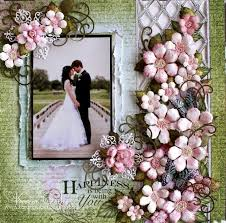 wedding scrapbook pages wedding scrapbook page weddings 12x12 layout scrapbooking
