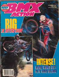 bicycle motocross action magazine juan hander