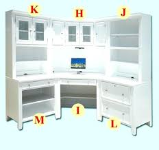 Ikea White Desk With Hutch White Computer Desks With Hutch Eatsafe Co