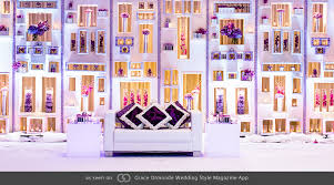 Custom Backdrops Custom Backdrop With Sunken And Protruding Shelves Accented With
