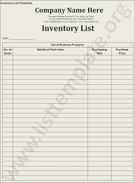 Inventory Sign Out Sheet Template Supply Inventory Template Personal Asset Inventory Template