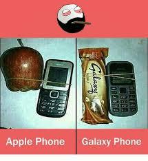Galaxy Phone Meme - apple phone galaxy phone apple meme on me me