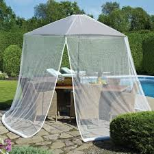 Mosquito Netting For Patio Umbrella Patio Umbrella Mosquito Net Wayfair
