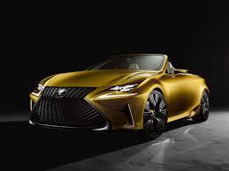 lexus lfa yahoo lexus brought a gold lf c2 concept car to the 2014 la auto show