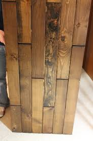 What Is Laminate Flooring Made From Headboard Made From Leftover Flooring Flooring Pinterest