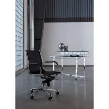 kare design schreibtisch schreibtisch visible clear 110x56cm kare design