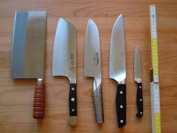 Different Kinds Of Kitchen Knives by Types Of Knives Used In Kitchen Home Decoration Ideas