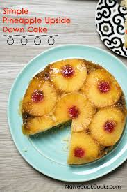 simple pineapple upside down cake recipe