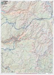 Map Of Yosemite Yosemite High Country U2013 Tom Harrison Maps