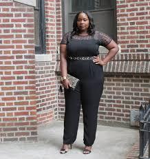 plus size black jumpsuits my favorite chic black plus size jumpsuit stylish