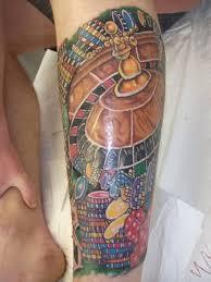 men gambling tattoo art and designs