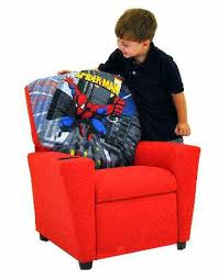 Youth Recliner Chairs Chairs Youth Recliner Chairs Chairside Table With Magazine Rack