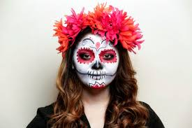How To Apply Halloween Makeup by To Apply La Catrina Makeup A Day Of The Dead Tutorial