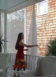 Mosquito Curtains For Porch Home Decorating Ideas Home Improvement Cleaning Organization