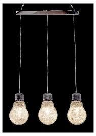 Light Bulb Ceiling Light Chrome 3 Bulb Silver Light Bulb Chandelier Mulberry Moon