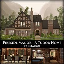 fireside manor a tudor home by petalbot u2014 the sims forums
